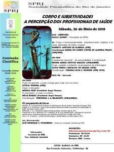 Jornada Corpo e subjetividades @ SPRJ | Rio de Janeiro | Brasil
