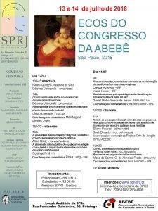 Ecos do Congresso da ABEBÊ @ SPRJ | Rio de Janeiro | Brasil