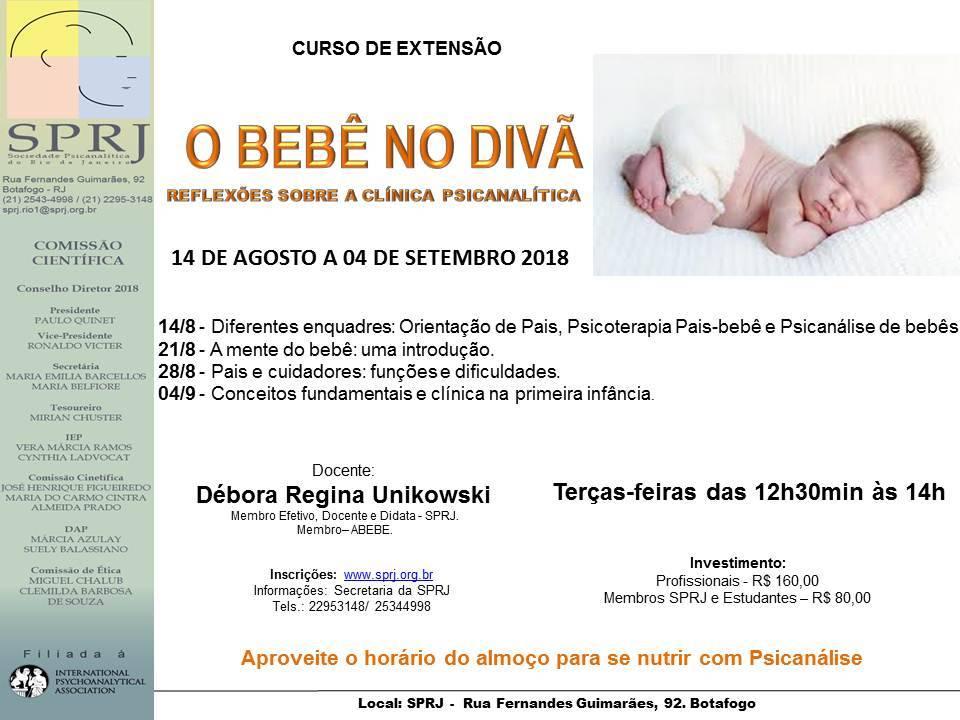 O bebê no divã @ SPRJ | Rio de Janeiro | Brasil