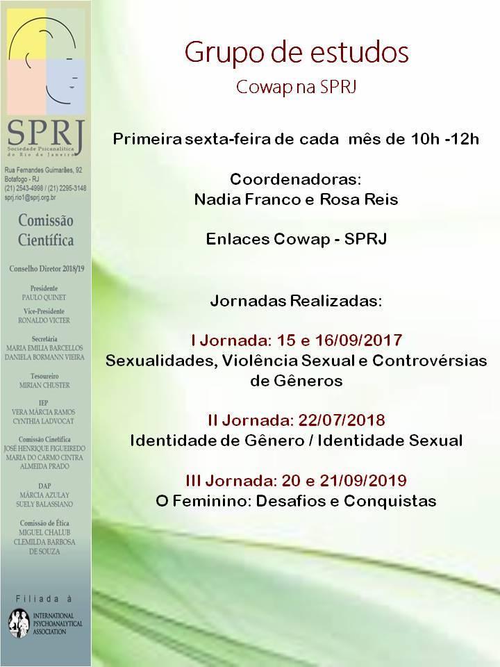 GRUPO DE ESTUDOS - Cowap na SPRJ @ SPRJ | Rio de Janeiro | Brasil