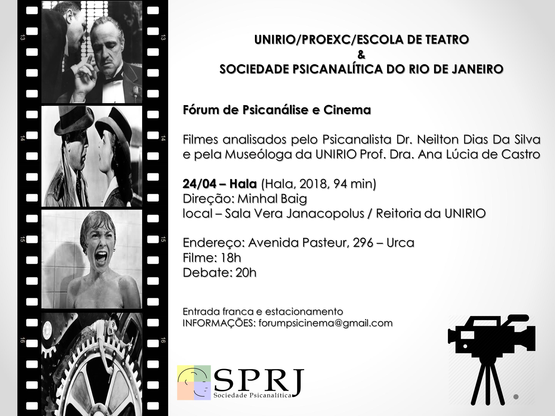 Fórum de Psicanálise e Cinema @ Sala Vera Janacopus / Reitoria da UNIRIO | Rio de Janeiro | Brasil
