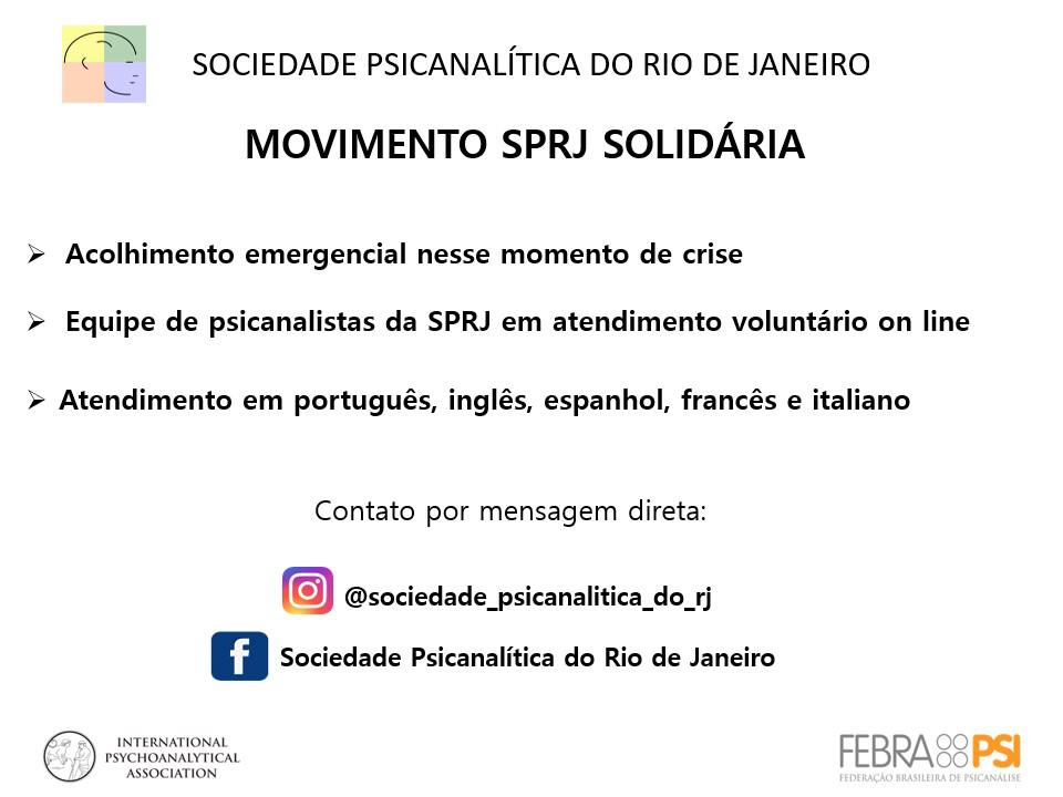 Movimento SPRJ Solidária