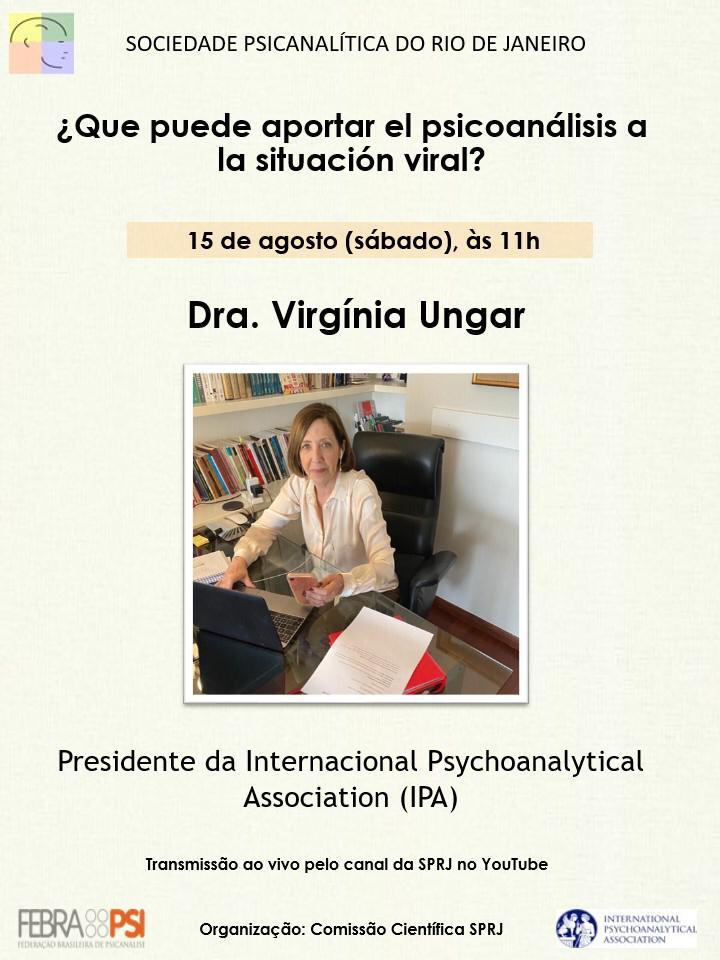 ¿Que puede aportar el psicoanálisis a la situación viral? @ Transmissão ao vivo pelo nosso canal no Youtube