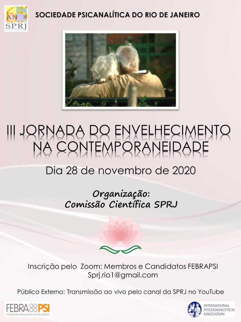 III Jornada do Envelhecimento na Contemporaneidade @ on-line | Rio de Janeiro | Brasil