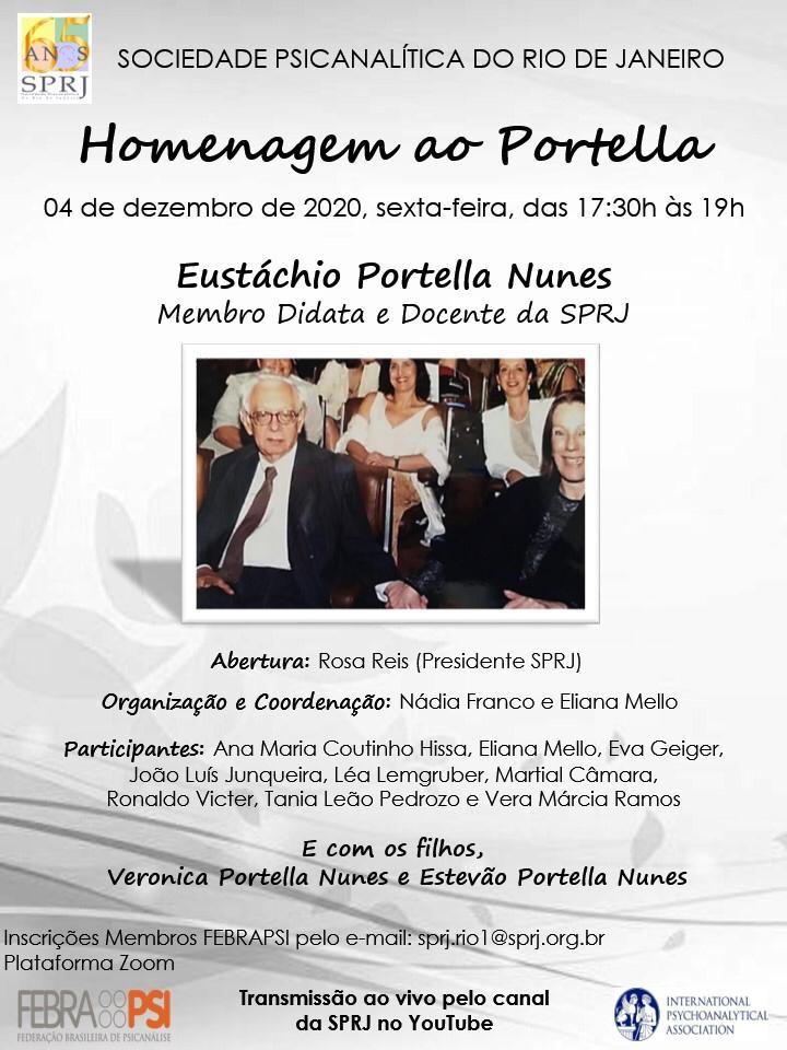 Homenagem ao Portella @ on-line