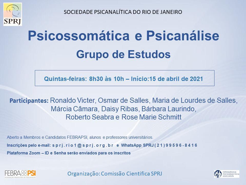 Grupo de Estudos - Psicossomática e Psicanálise @ on-line