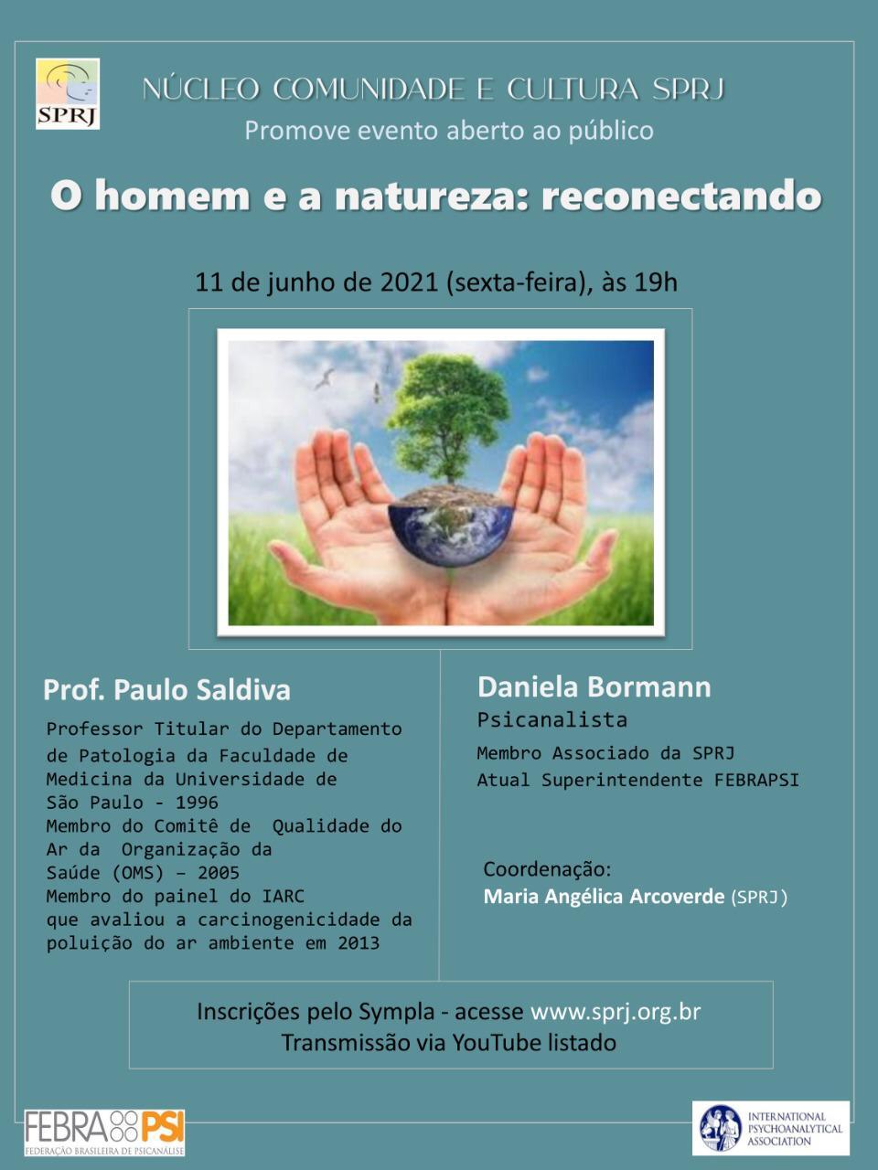 O Homem e a Natureza: Reconectando @ on-line