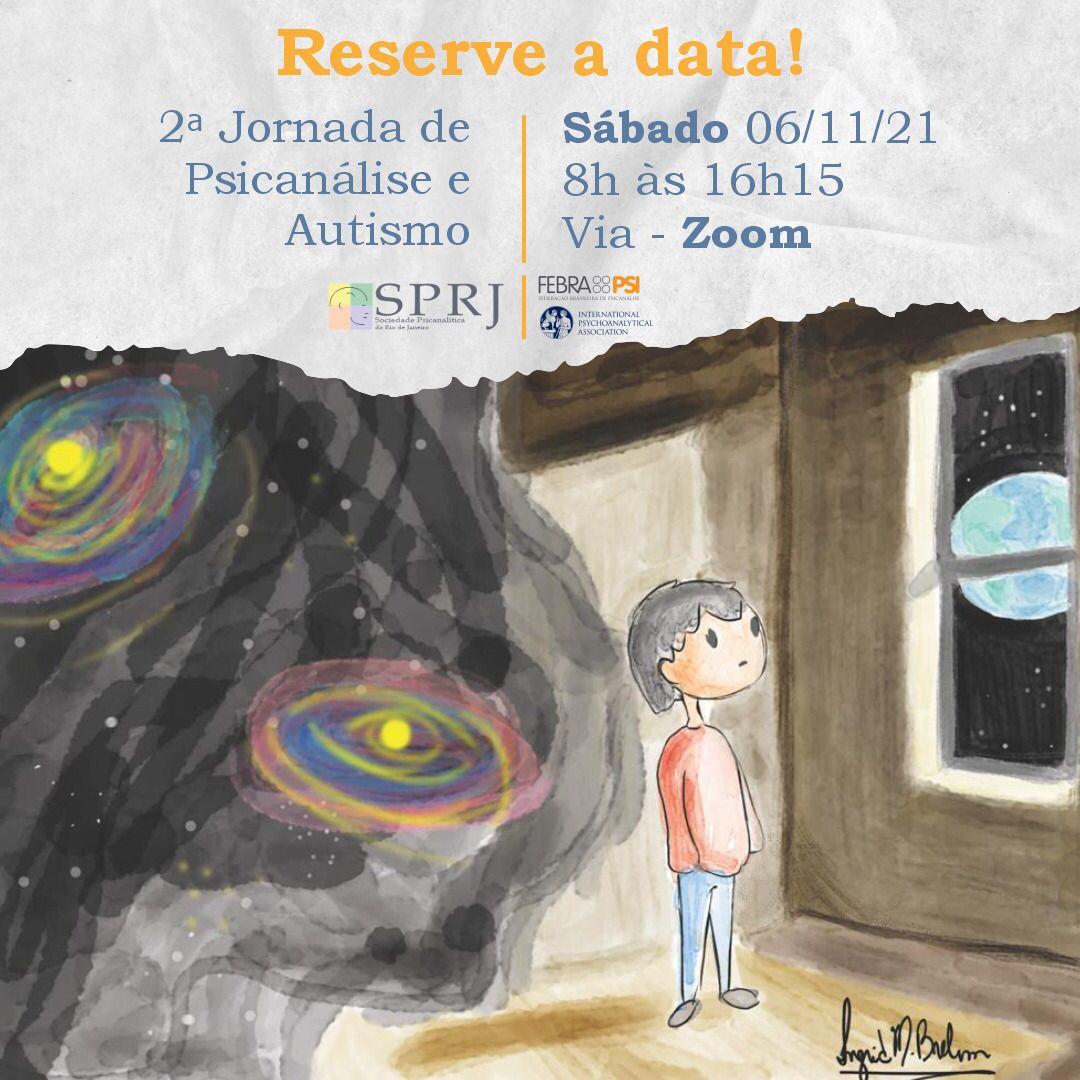 2ª Jornada de Psicanálise e Autismo @ on-line